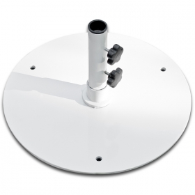 50lb Steel base WHITE
