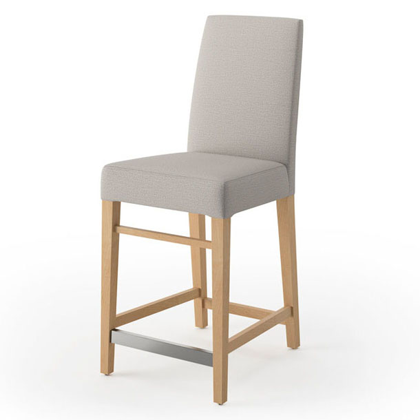 Aaron Counter Stool Wood Back Harmony Contract Furniture
