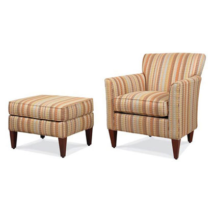 Avenue Lounge Chair and Ottoman