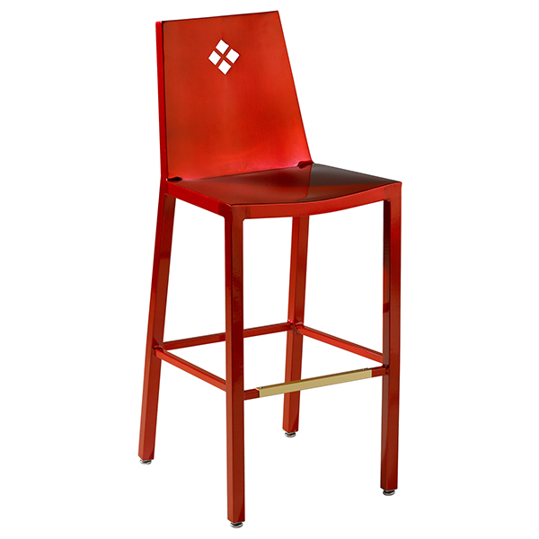 Bellagio Barstool Diamond Back