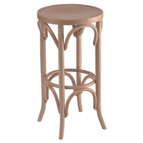 Bentwood backless BS wood seat
