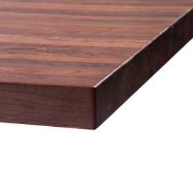 Black Cherry Butcher Block Burgundy finish