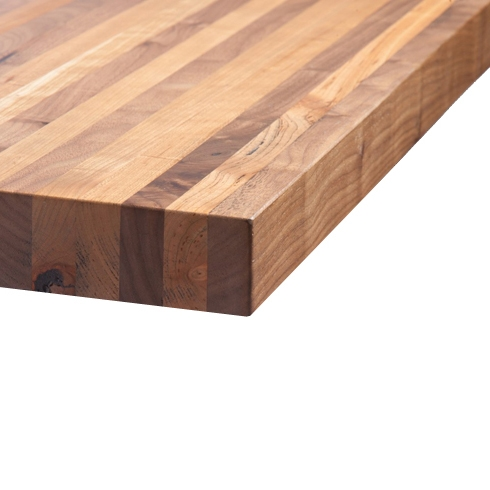 Black Cherry Butcher Block Natural finish