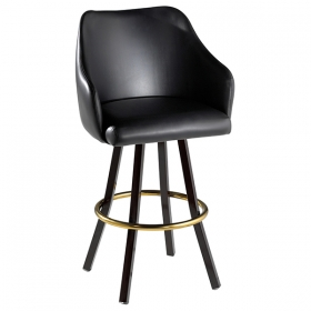 Bucket barstool -swivel