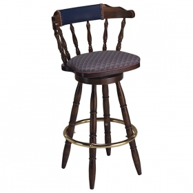 Captain Barstool uph seat and back