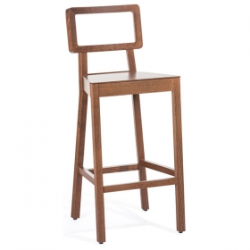 Cellini barstool all wood
