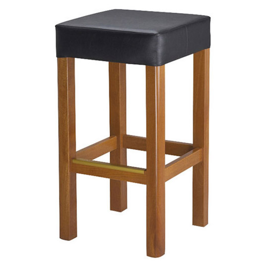 Charming backless barstool