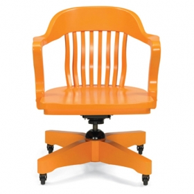 Courthouse AC swivel-Tangerine