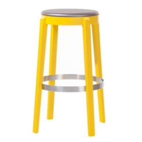 Divio backless barstool uph seat