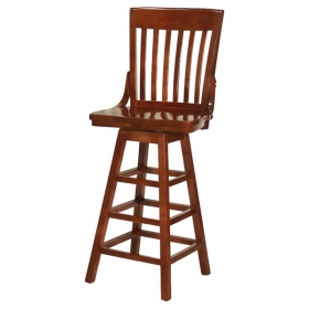 Elliot Schoolhouse Barstool swivel