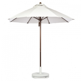 Fiberglass Market Umbrella with BRONZE FRAME