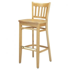 Ginger Barstool wood seat