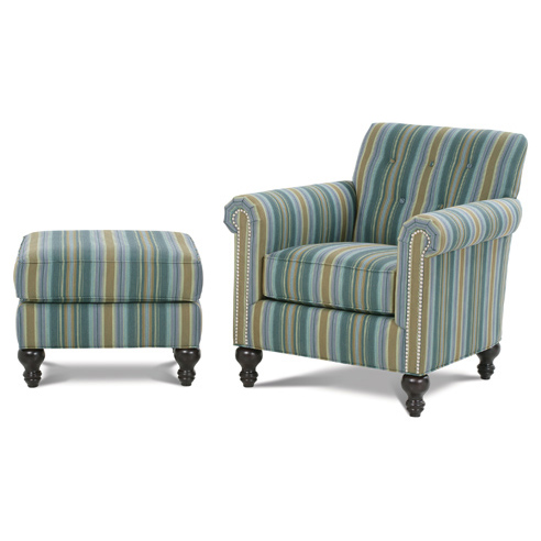 Laverne Lounge Chair& Shirley Ottoman
