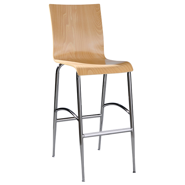 Lucas barstool Square Back-designer base