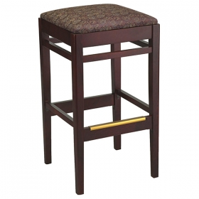 Shelton backless barstool uph seat