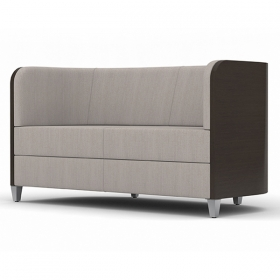 Stockholm wood love sofa