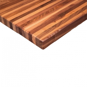 Walnut Butcher Block-With-Sap