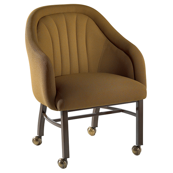 Weymouth Lounge chair channeled back