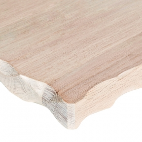 White Wash Oak Hewn
