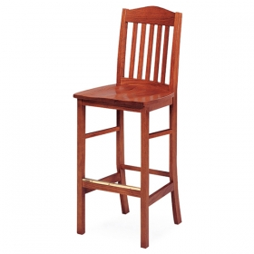 Wright Barstool wood seat