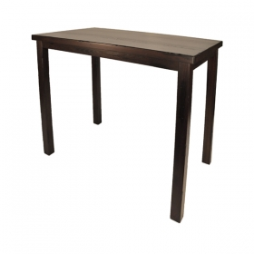 Rectangular Barheight Table